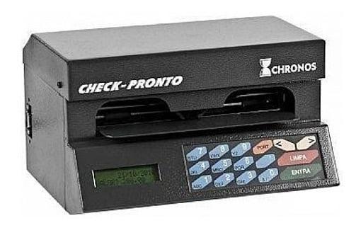 Impressora de Cheque Pertochek e Chronos Cheque-Pronto